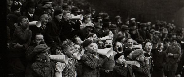 Unge AGF fans i 1934