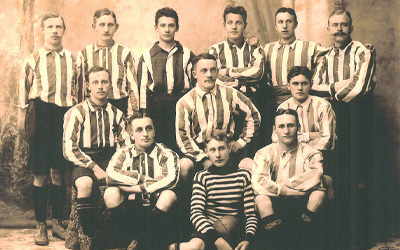 AGF holdfoto 1909