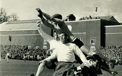 AGF mod Benfica i 1961