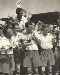 AGF DM jubel 1955